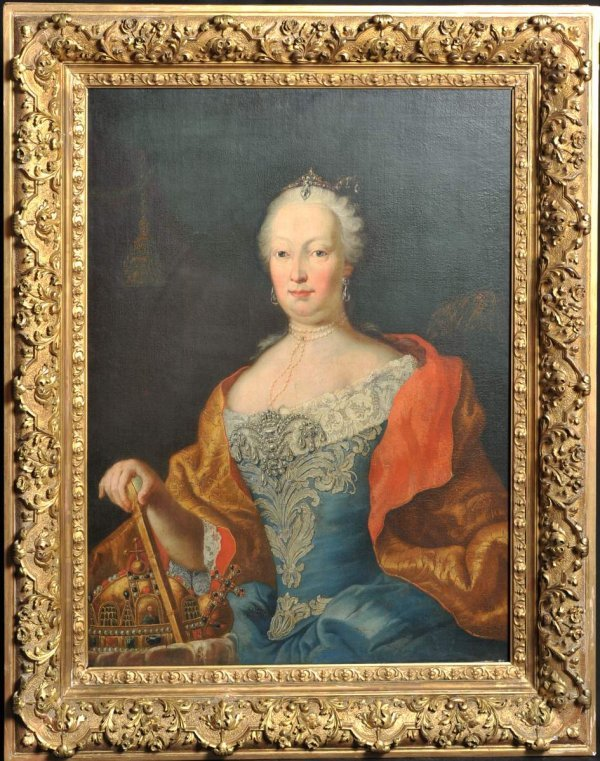 131: Portrait of Maria Theresia as Queen of Hungary, 18