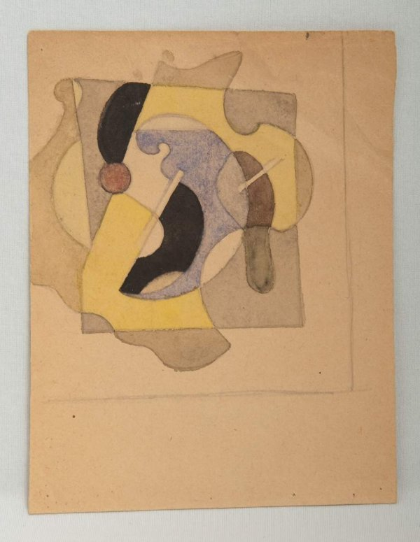 165: Ivan Vasilievitch KLIUN (Russian, 1873-1943) Abstr