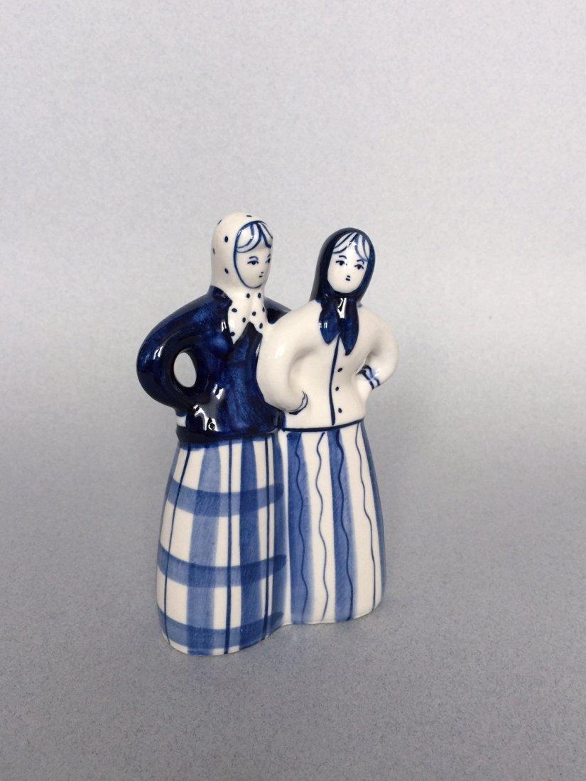 Russian porcelain figurine Gzhel - 2