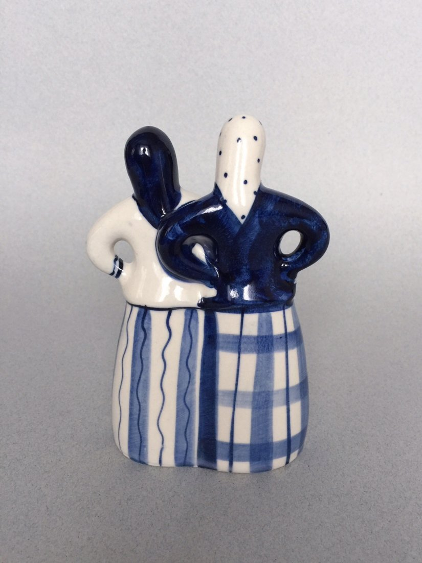 Russian porcelain figurine Gzhel - 3
