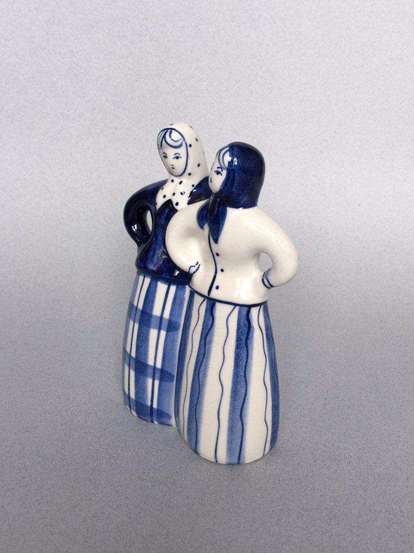 Russian porcelain figurine Gzhel - 4