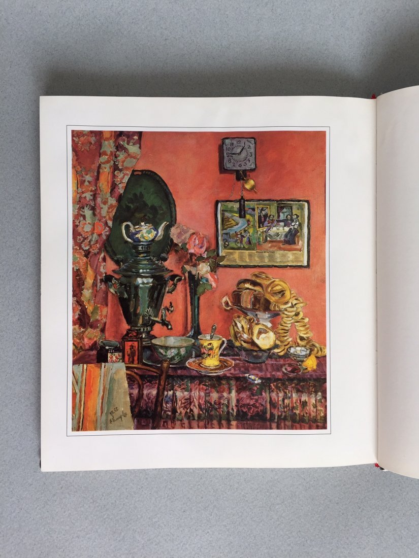 Book Russian hand painted tray, German language - 5