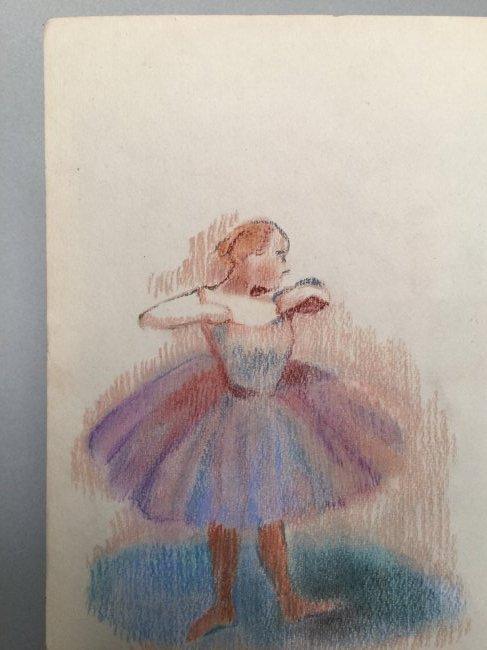 Edgar Degas pastel on paper - 3