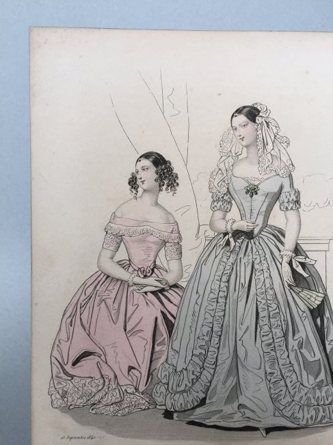 Colored Engraving on Paper - 5