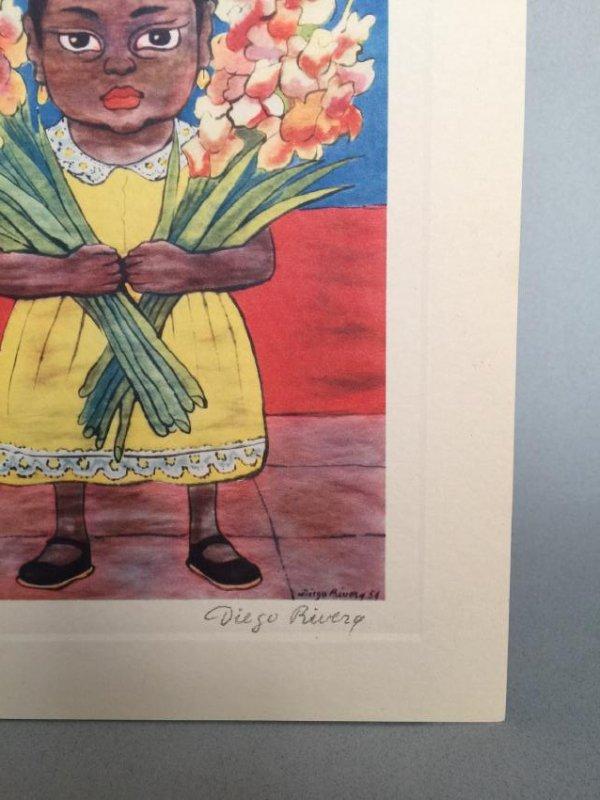 Diego Rivera offset print lithograph - 4