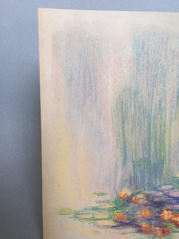 Claude Monet pastel on paper - 4