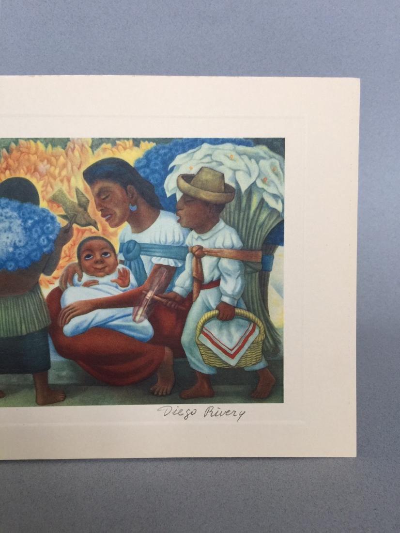 Diego Rivera offset print lithograph - 3