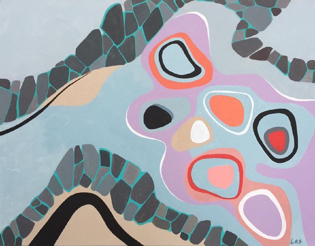 Modern art, Abstract, acrylic on canvas