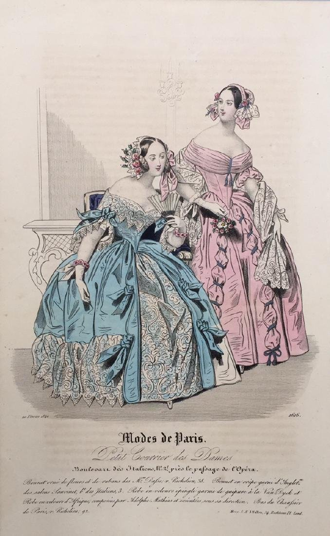 Colored Engraving on Paper