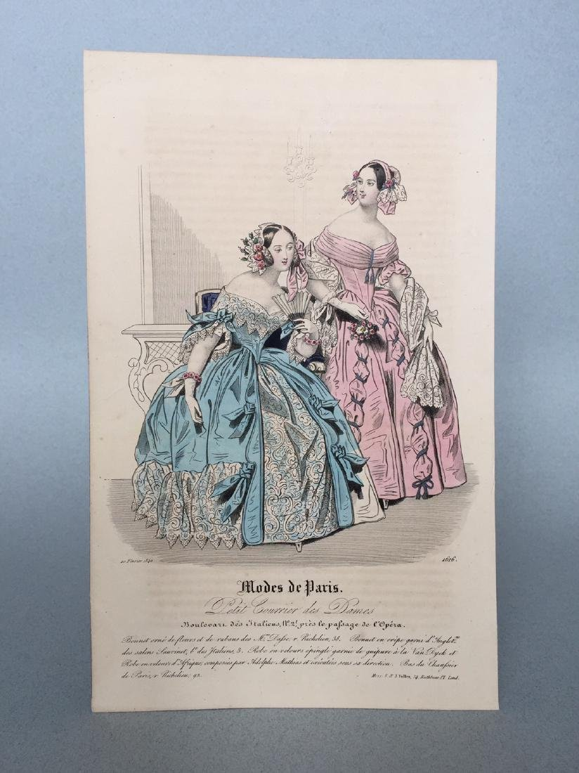 Colored Engraving on Paper - 2