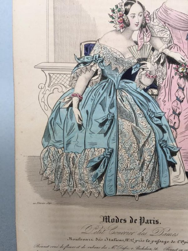Colored Engraving on Paper - 3