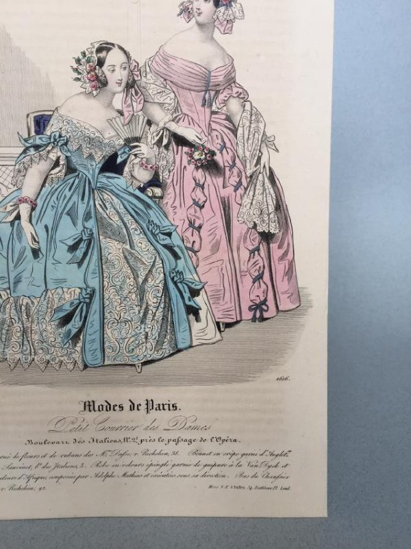 Colored Engraving on Paper - 4