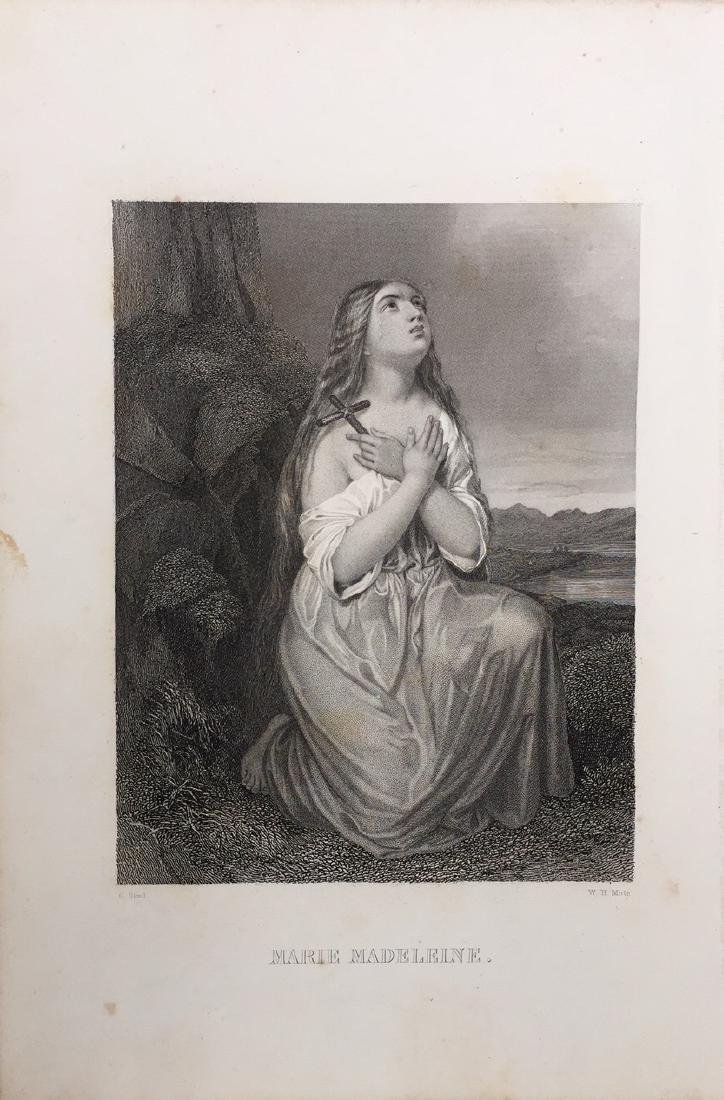 Engraving on Paper signed in print Gustaf Staal