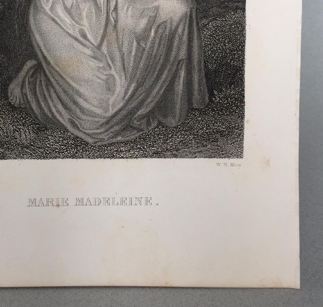 Engraving on Paper signed in print Gustaf Staal - 4