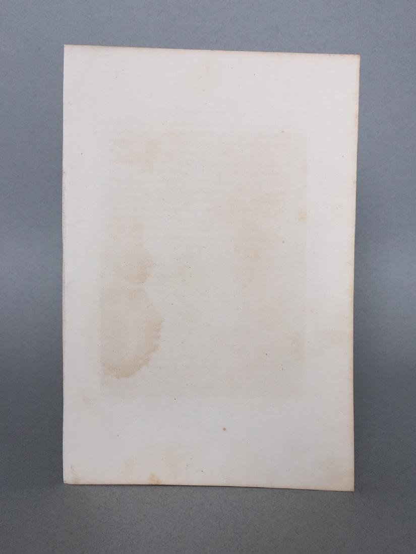 Engraving on Paper signed in print Gustaf Staal - 7