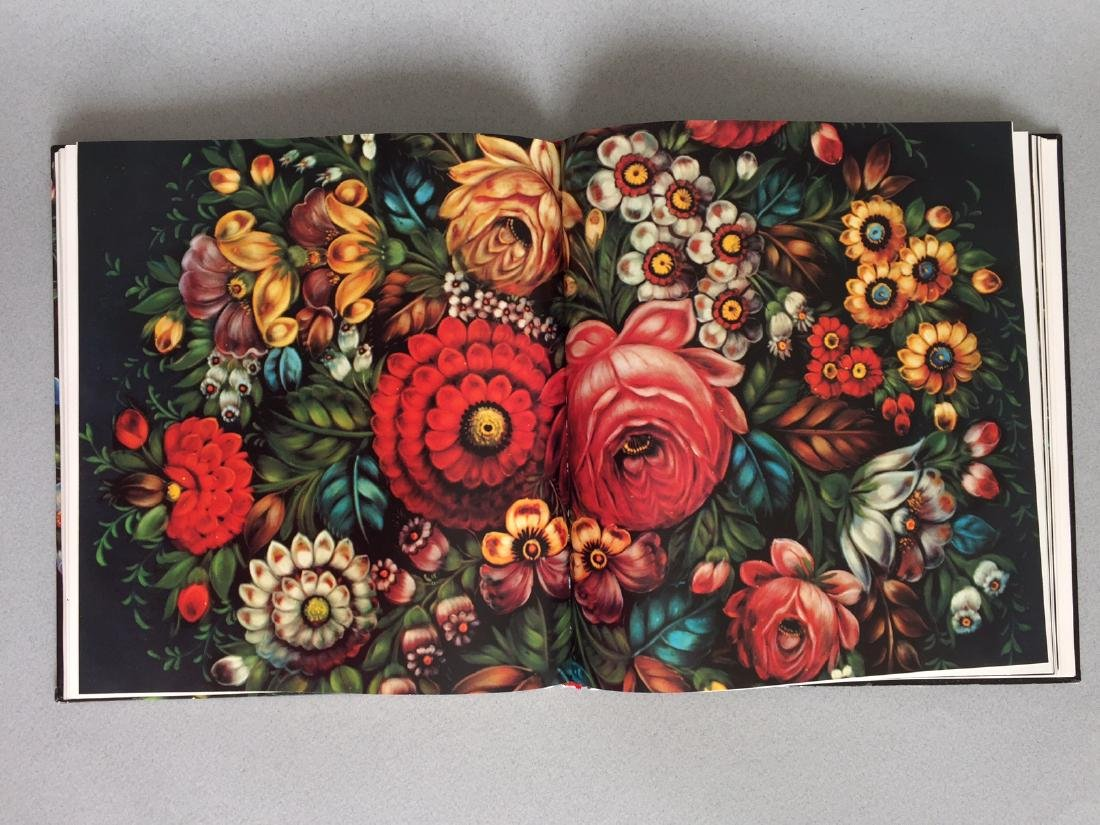 Book Russian hand painted tray, German language - 9