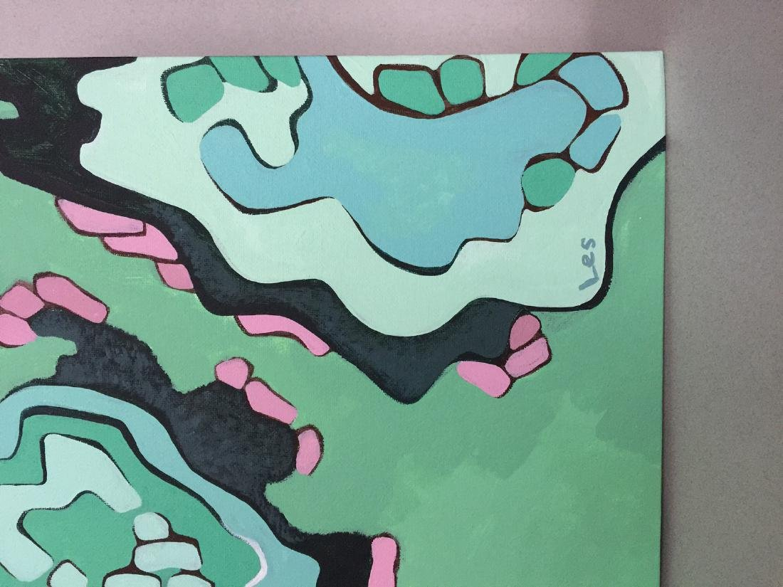 Original painting on canvas, acrylic, Abstract art - 3