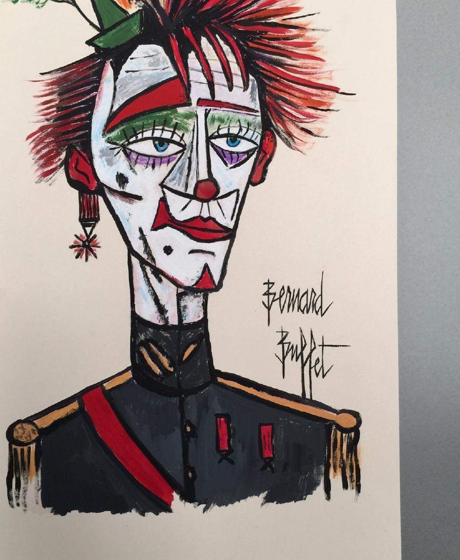 Gouache on paper Bernard Buffet style - 4