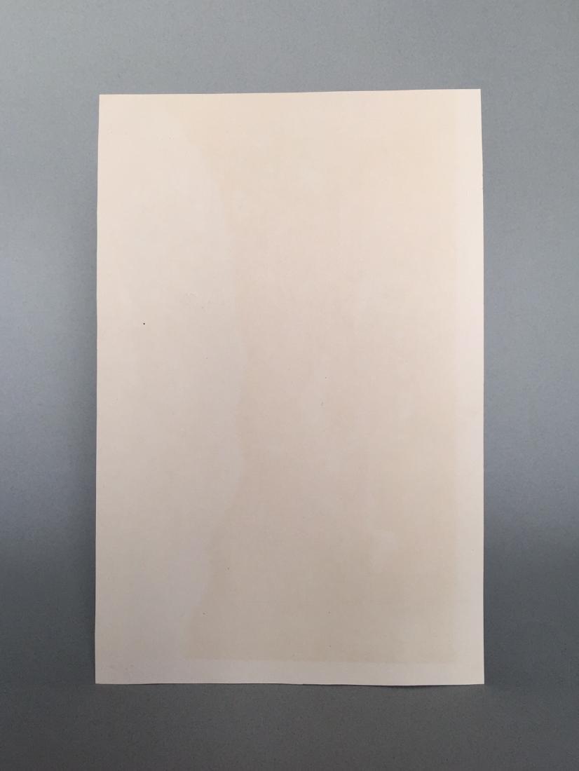 Gouache on paper Bernard Buffet style - 5