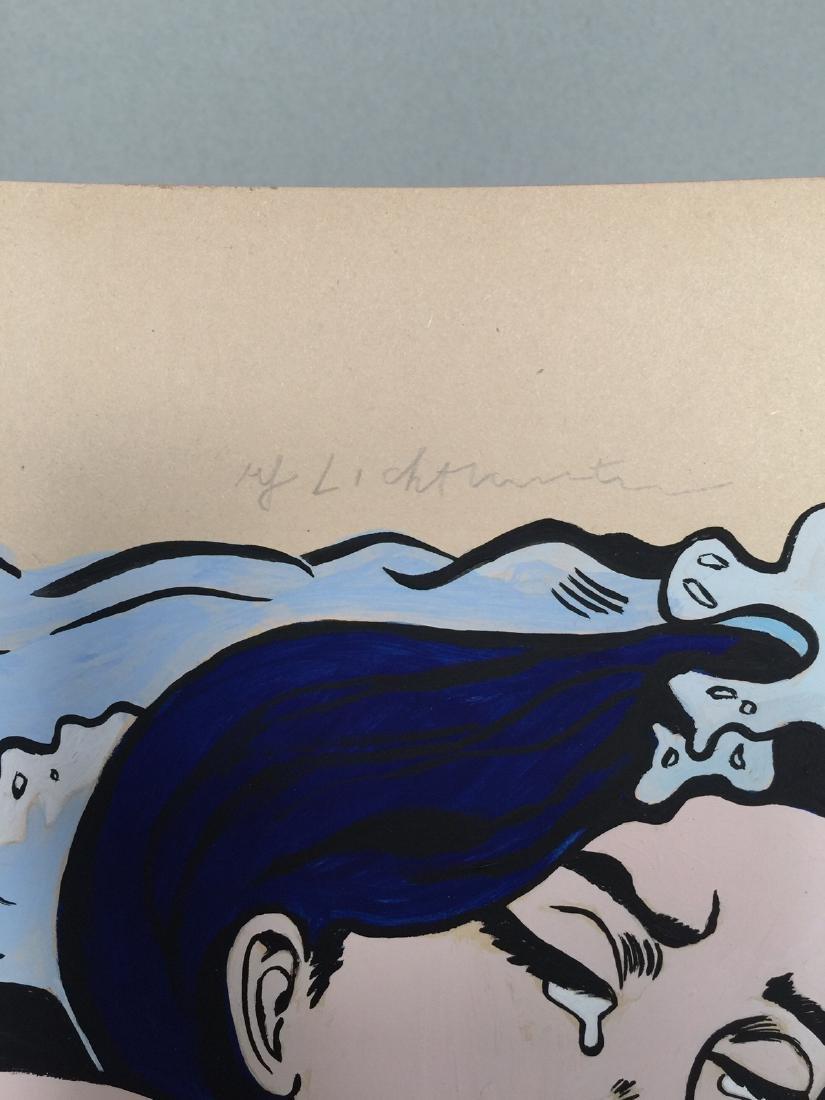 Gouache on paper Roy Lichtenstein - 5