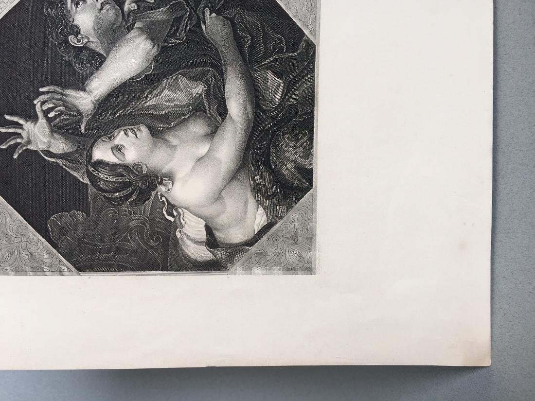 Engraving On Paper Signed In Print C. Cignani - 4