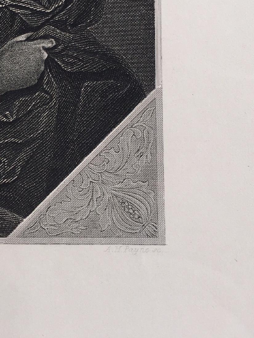 Engraving On Paper Signed In Print C. Cignani - 5