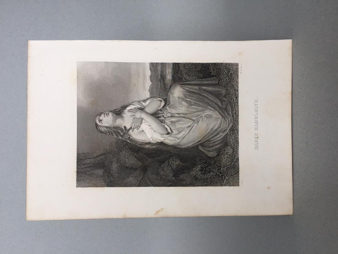 Engraving on Paper signed in print Gustaf Staal - 2