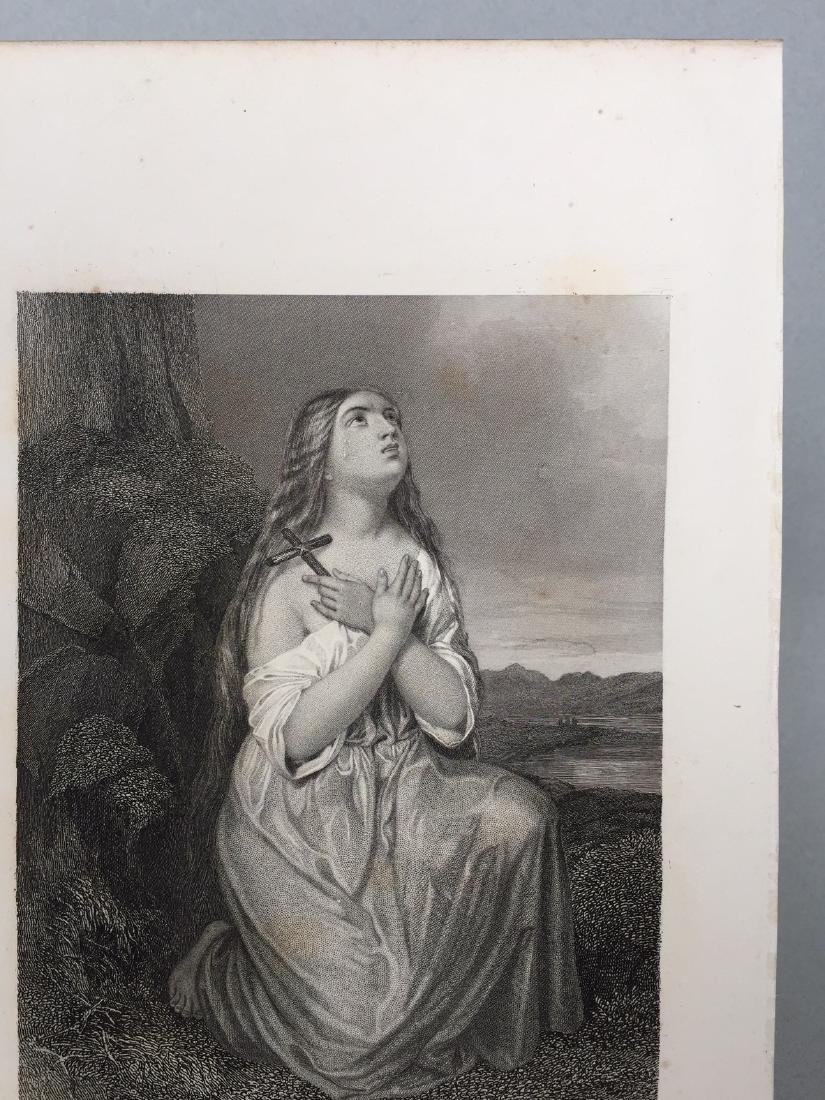 Engraving on Paper signed in print Gustaf Staal - 5