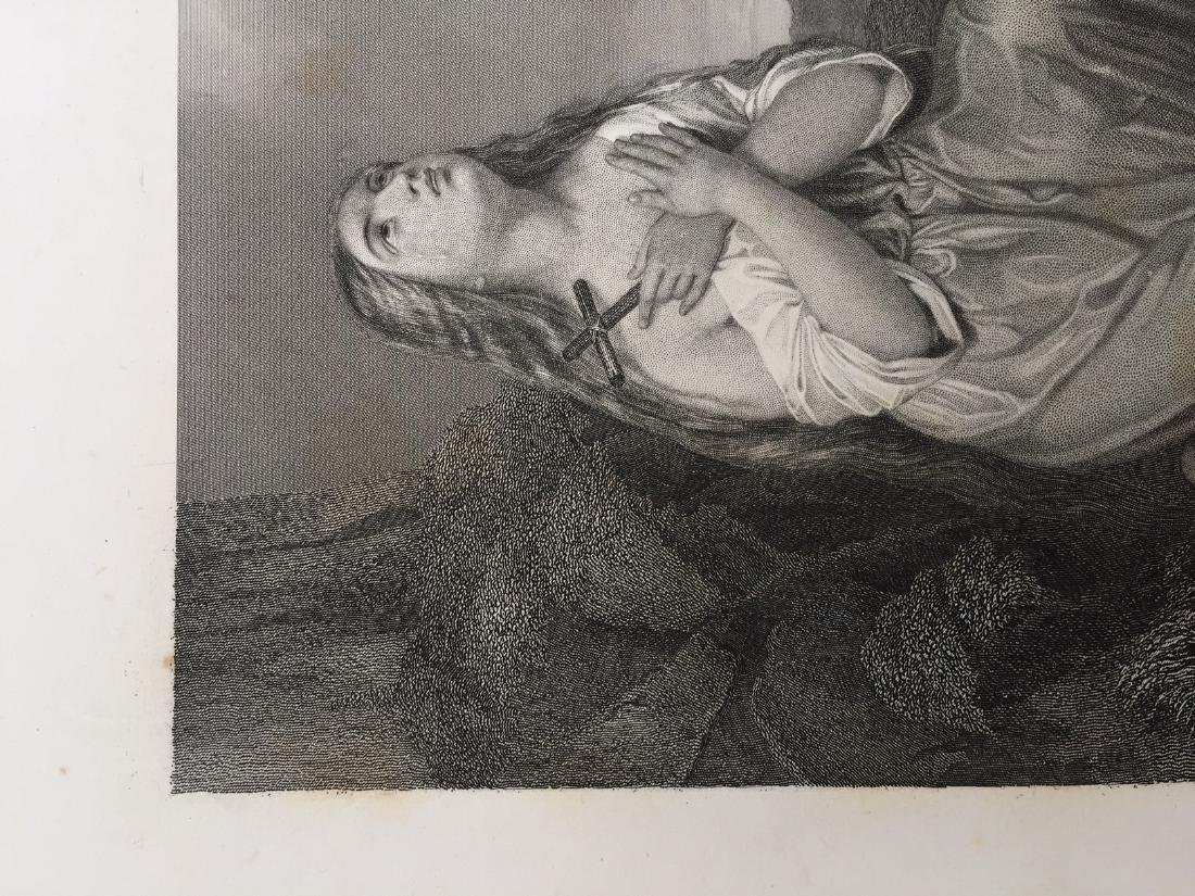 Engraving on Paper signed in print Gustaf Staal - 6