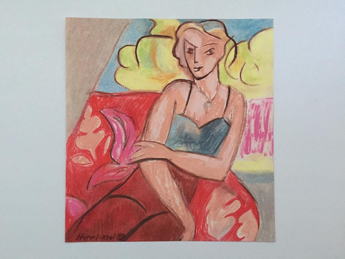 Henri Matisse mixed media on paper style - 5