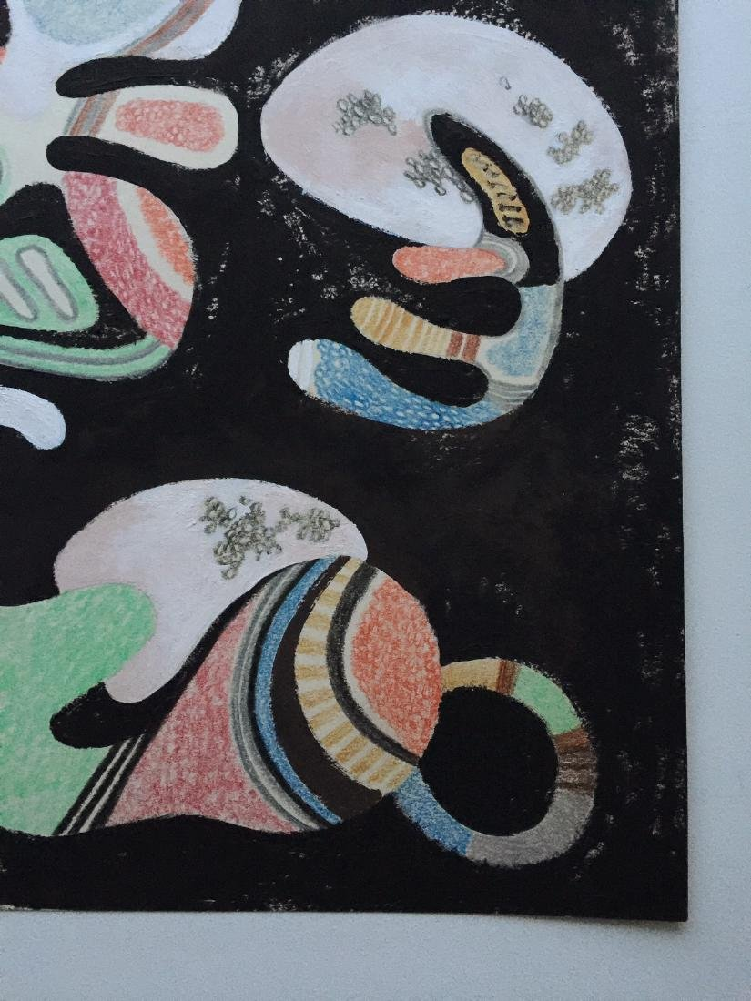 Wassily Kandinsky tempera, crayons on paper - 3