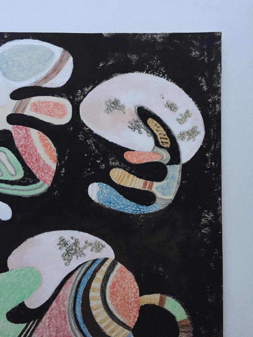 Wassily Kandinsky tempera, crayons on paper - 4