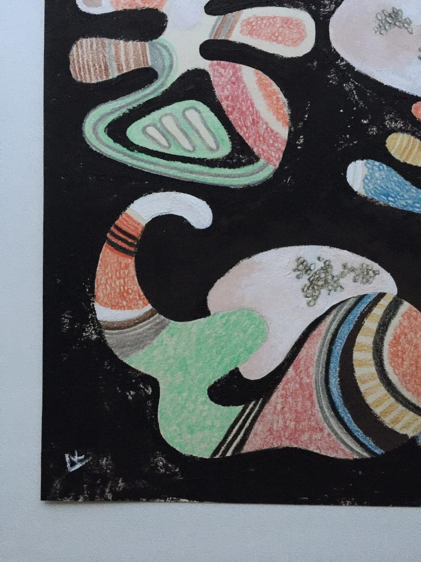 Wassily Kandinsky tempera, crayons on paper - 5