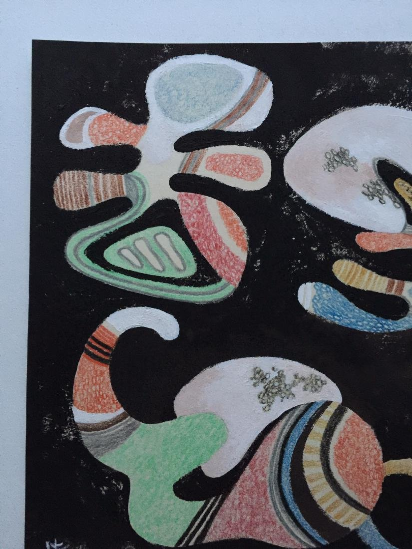 Wassily Kandinsky tempera, crayons on paper - 6