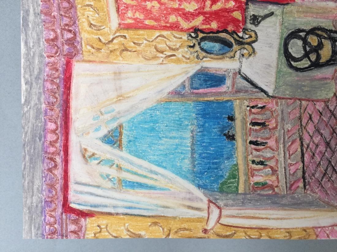 Henri Matisse wax crayon on paper style - 4