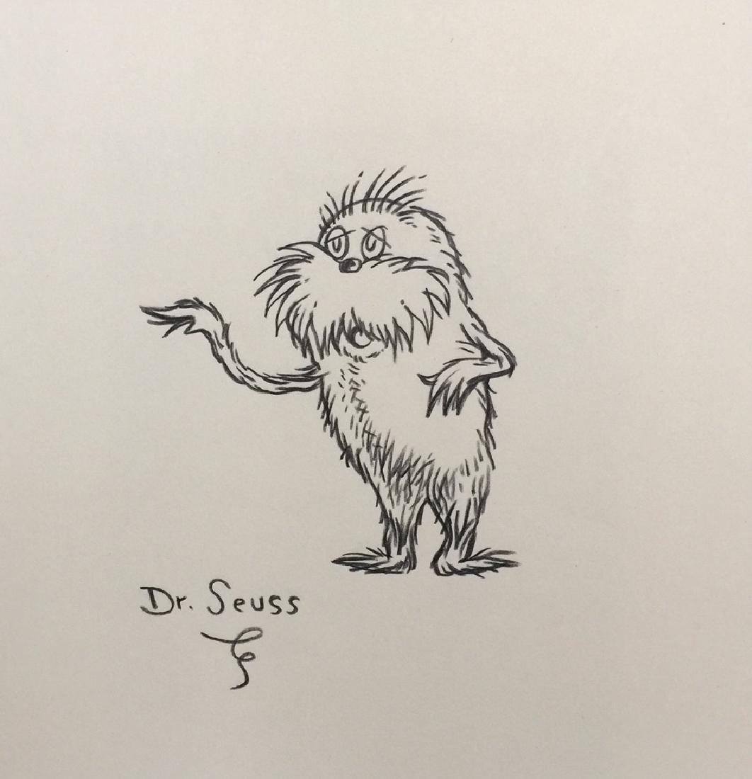 Crayon on paper Dr. Seuss