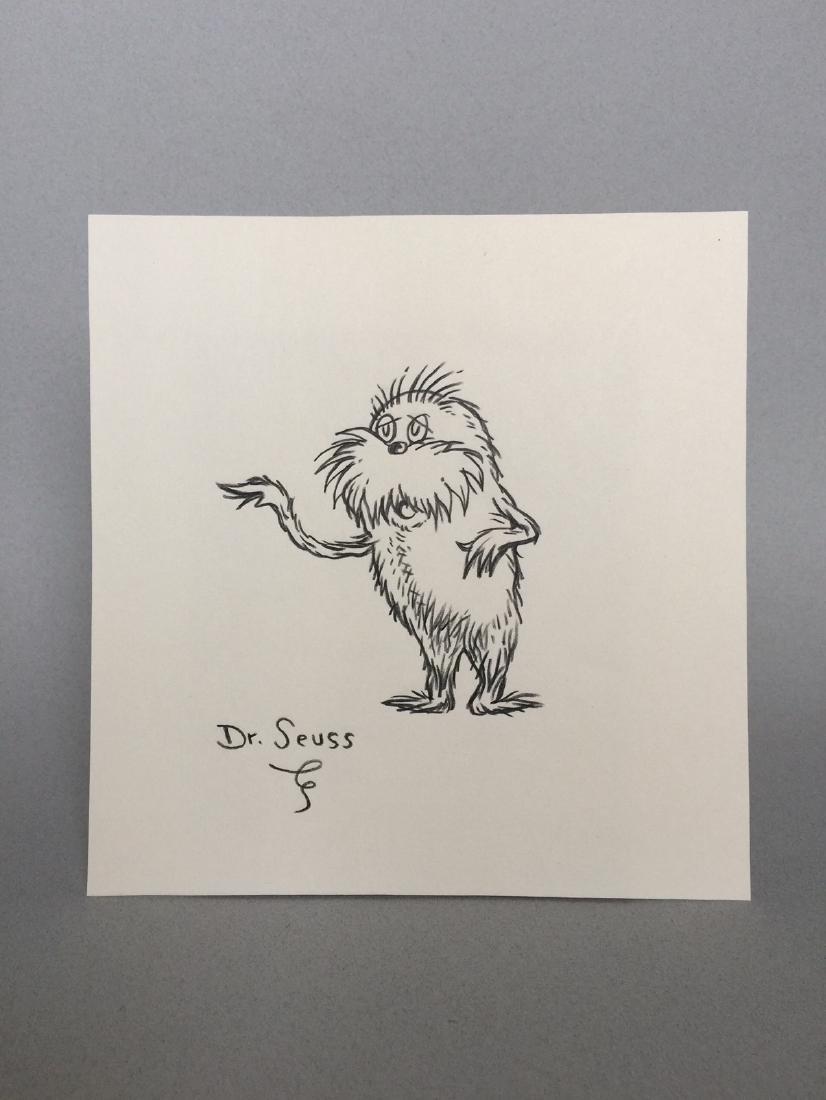 Crayon on paper Dr. Seuss - 2