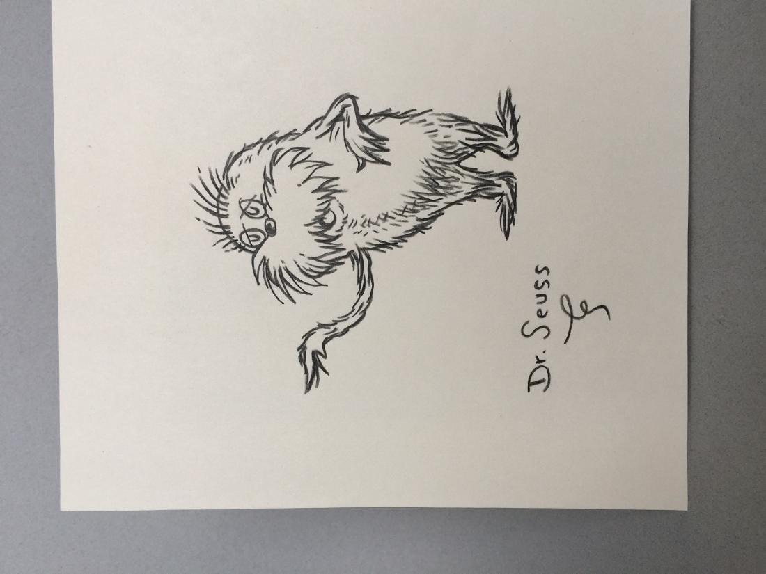 Crayon on paper Dr. Seuss - 3