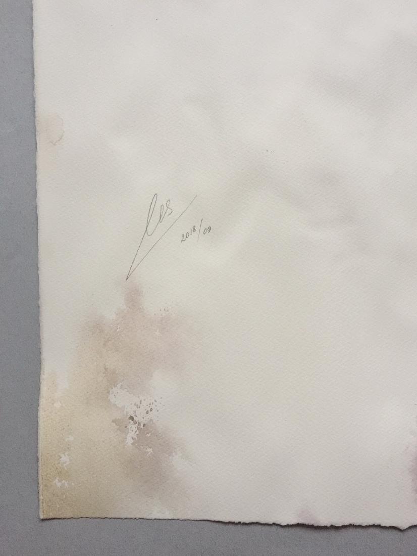 Original watercolor by artist, Marilyn Monroe, cubism - 8