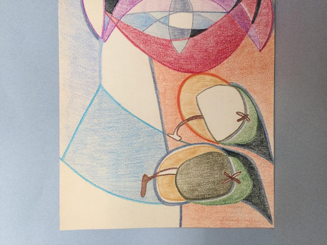 Pablo Picasso crayon on paper still life - 3