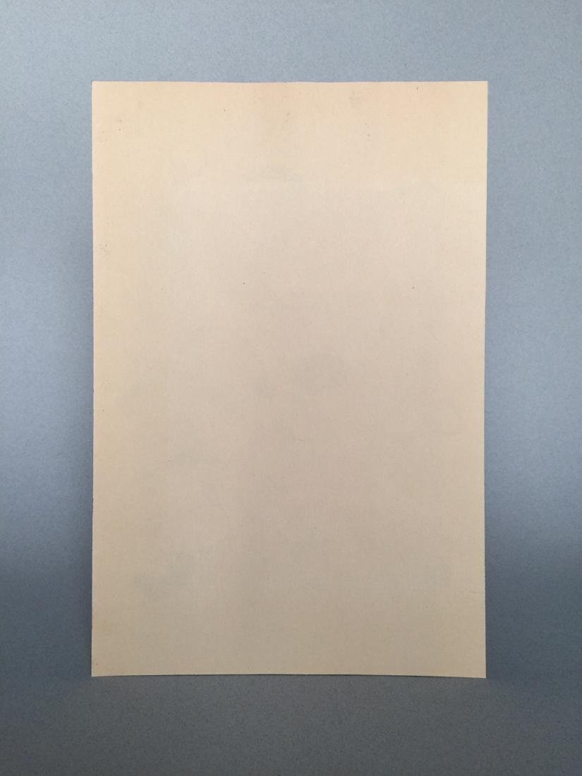 Joan Miro pastel, tempera on paper - 6