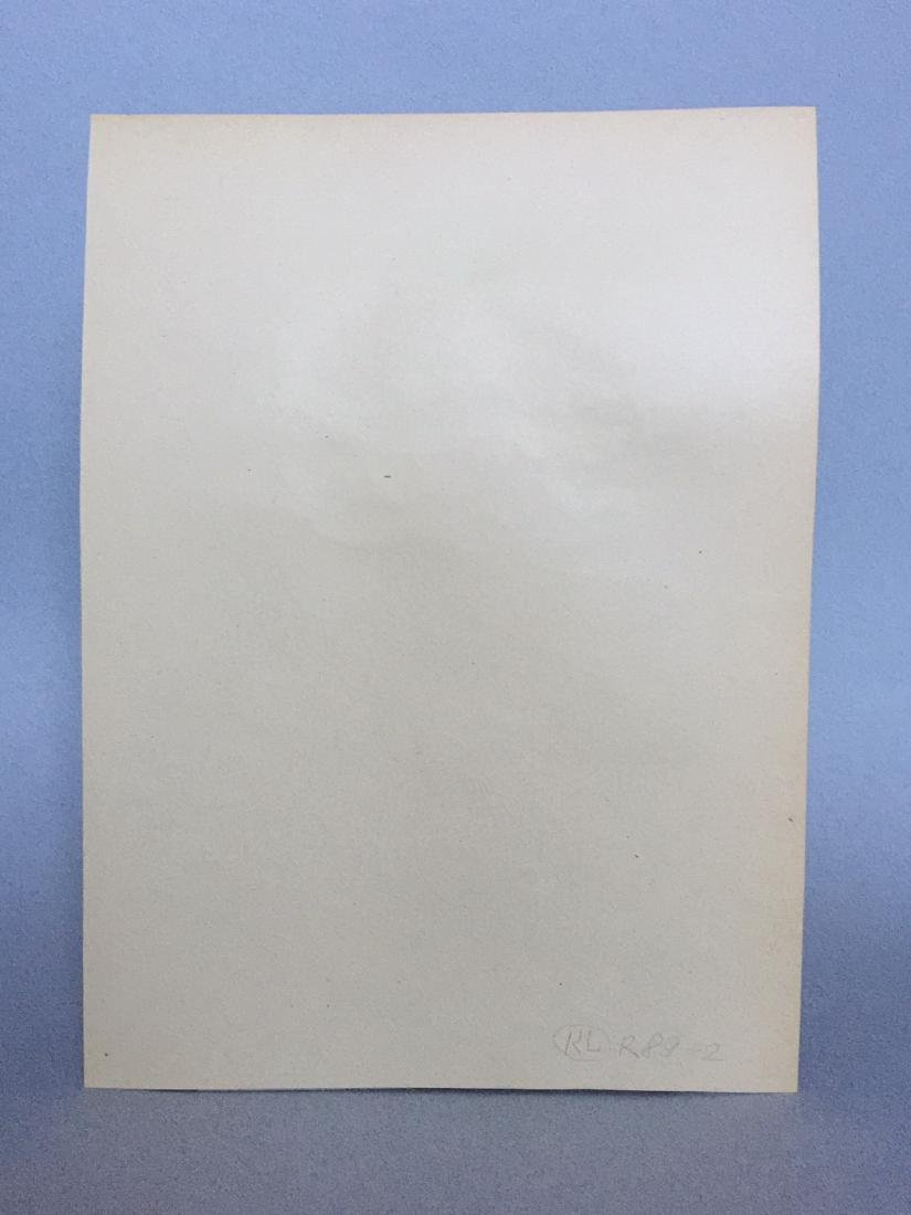 Ink, watercolor on paper signed Andy Warhol - 7