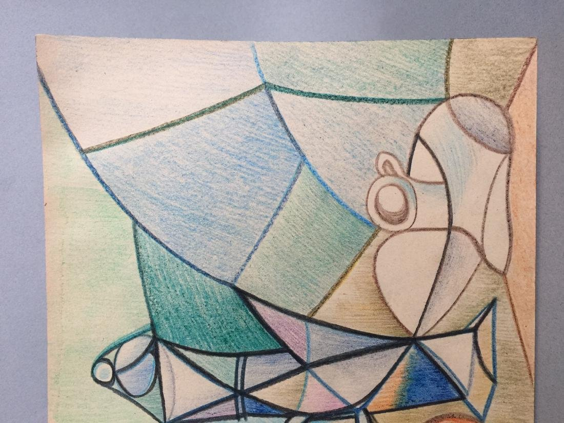 Crayon on paper still life Pablo Picasso - 3