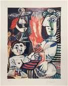 Pablo Picasso lithograph cubism art