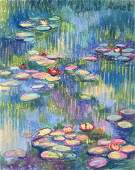 Claude Monet pastel on paper Impressionism French