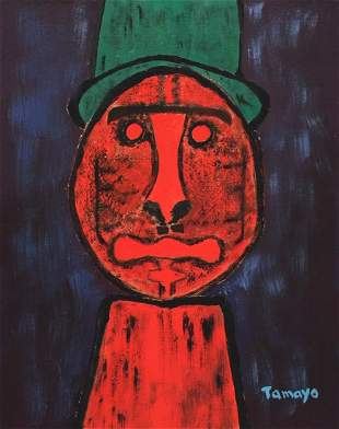 Rufino Tamayo gouache on paper Mexican