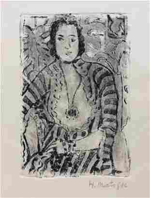 Henri Matisse linocut etching Expressionism French