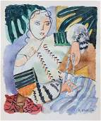 Henri Matisse watercolor on paper Expressionism French