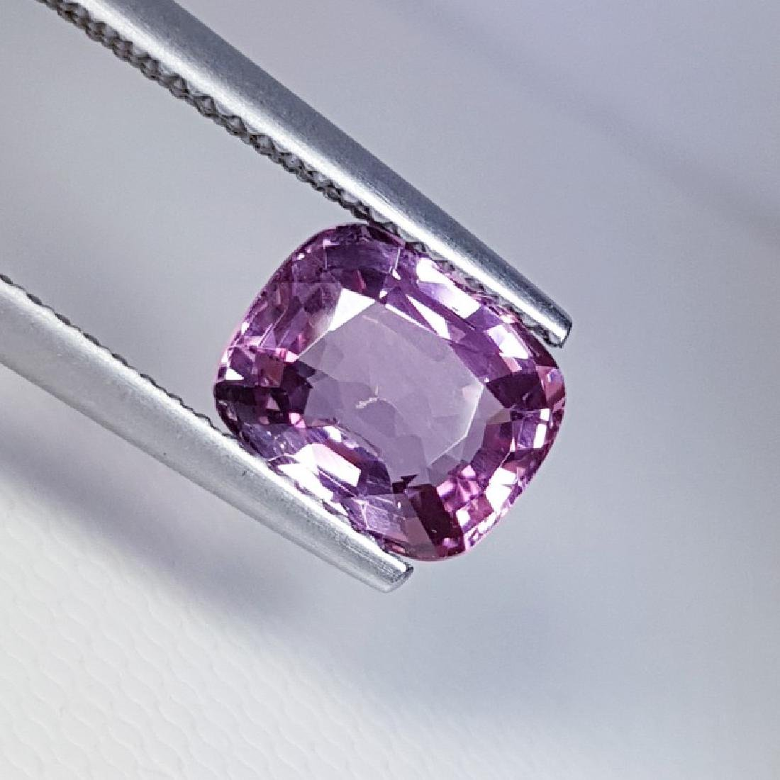 2.18 ct Top Luster Cushion Cut Natural Spinel