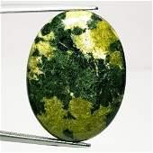 3135 ct Natural Green Jasper